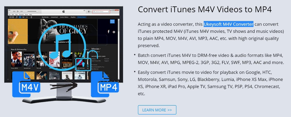 convert itunes m4v to mp4 free