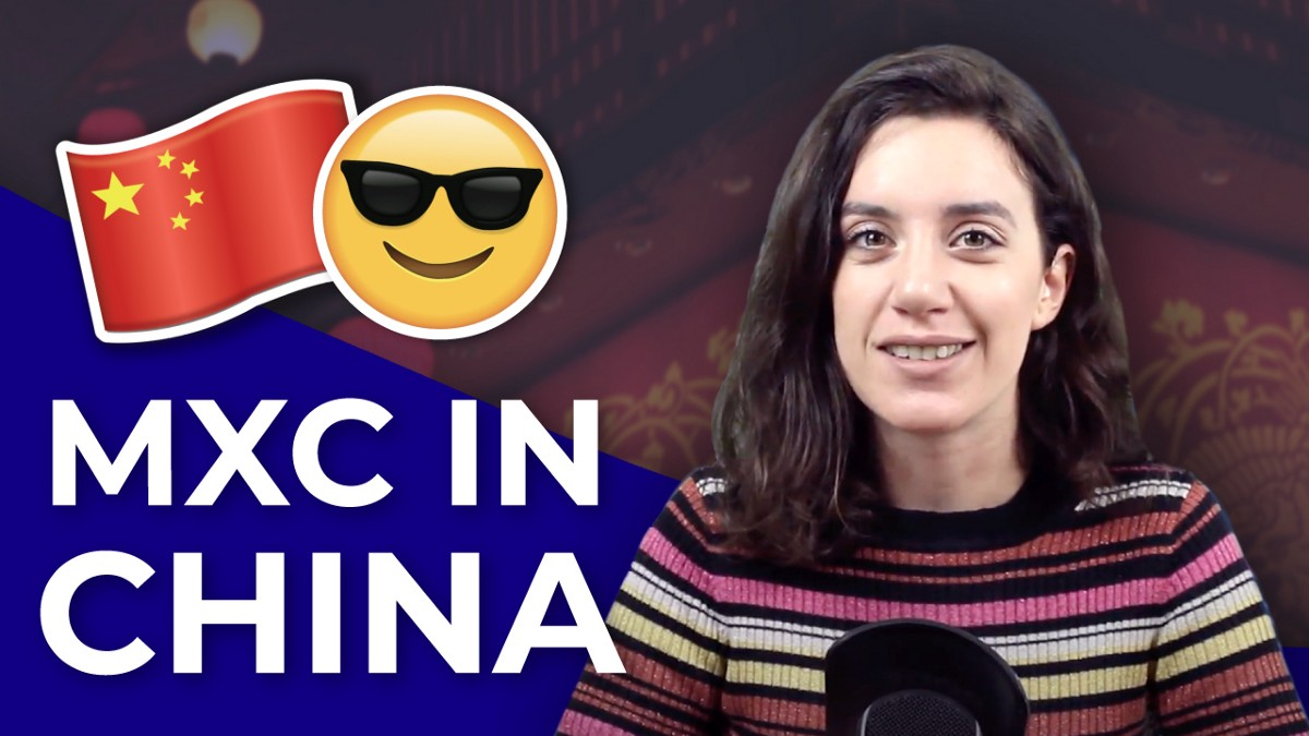 The MXC voice is being heard in China