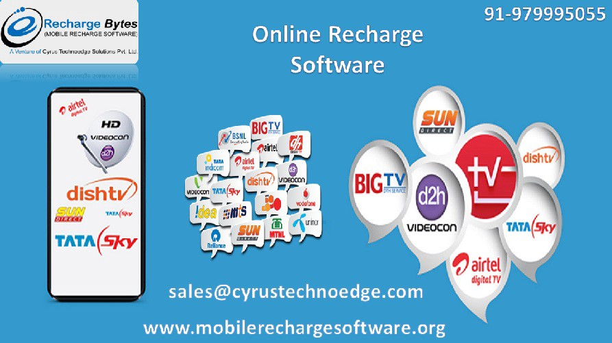 Make your Business Attractive with Online Mobile Recharge Software