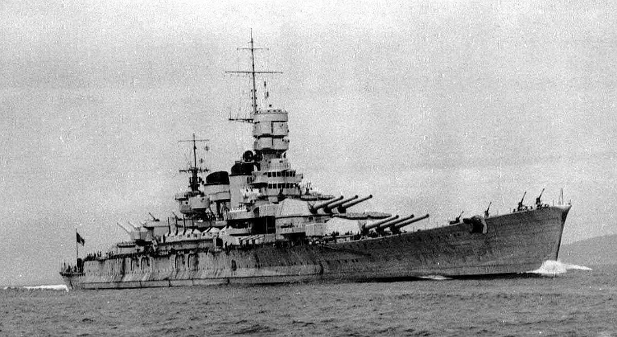 Italy's World War II Battleships Were Lovely, But Not