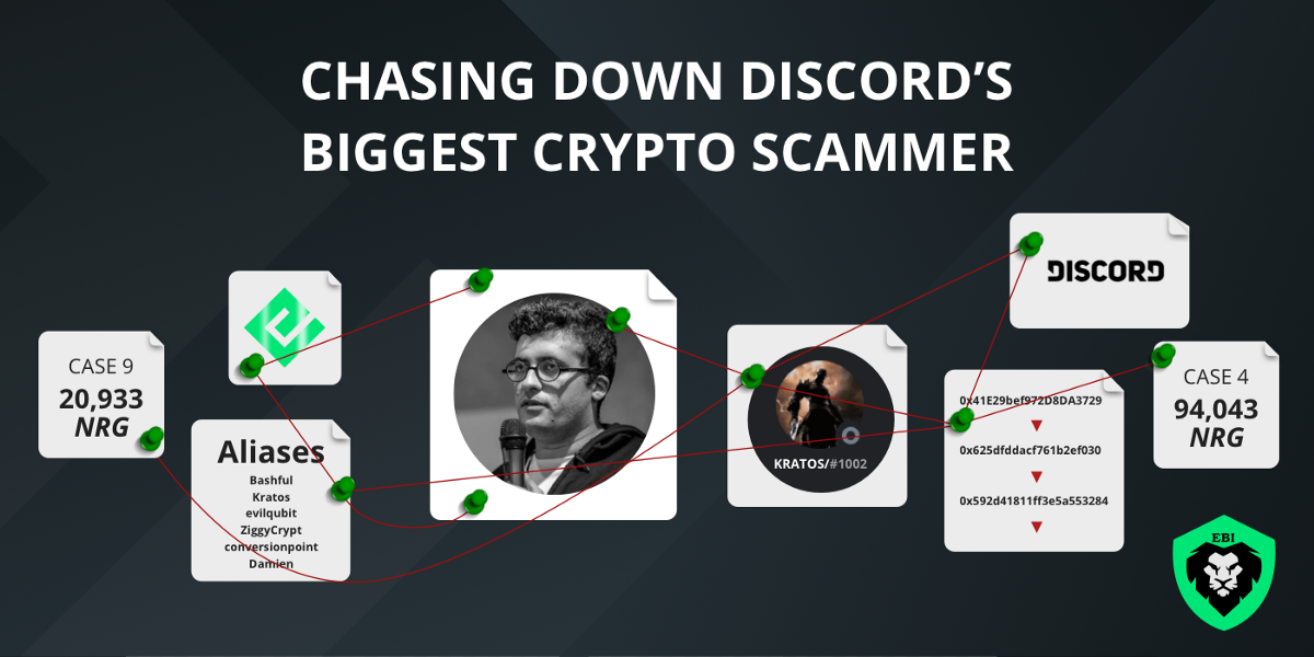 Chasing Down Discord's Biggest Crypto Scammer