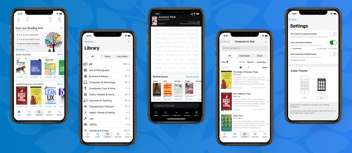 Case study: Redesigning Amazon's Kindle app for avid readers