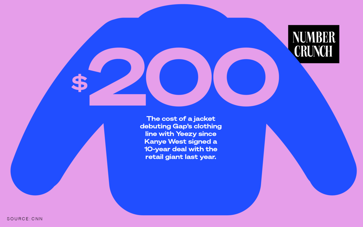 Kanye West Is One Step Closer to Becoming the 'Steve Jobs of Gap'
