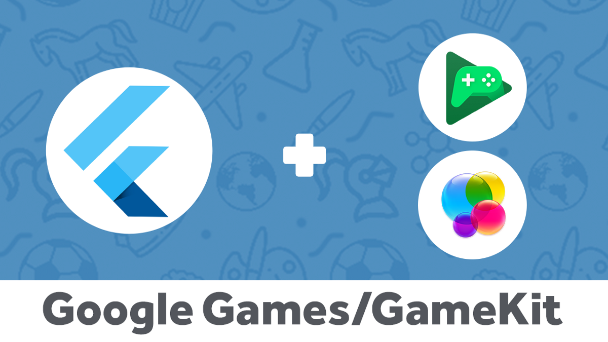 How to integrate GameKit and Google play services—Flutter