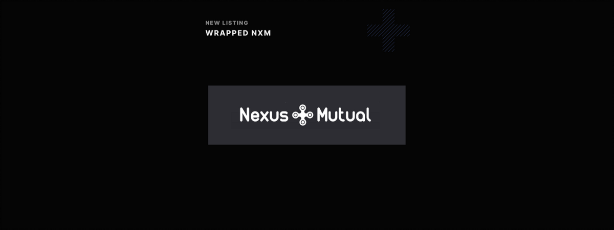 Eterbase Listing Announcement: Wrapped NXM (WNXM)