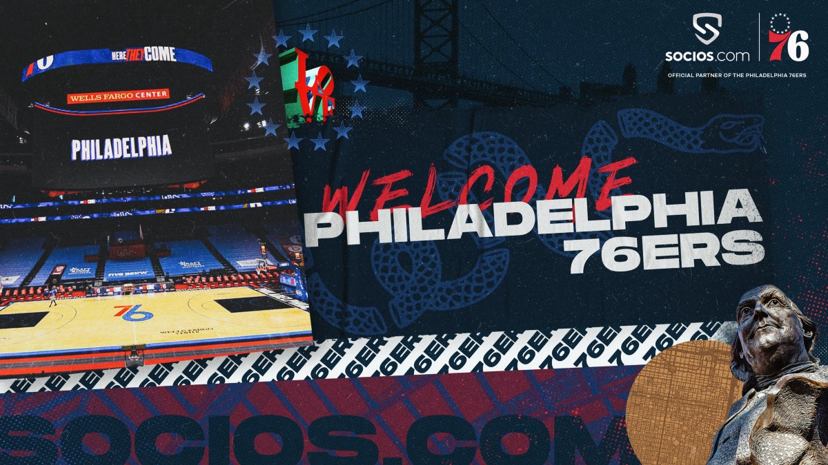 Philadelphia 76ers Become The First NBA Franchise To Partner With Socios.com