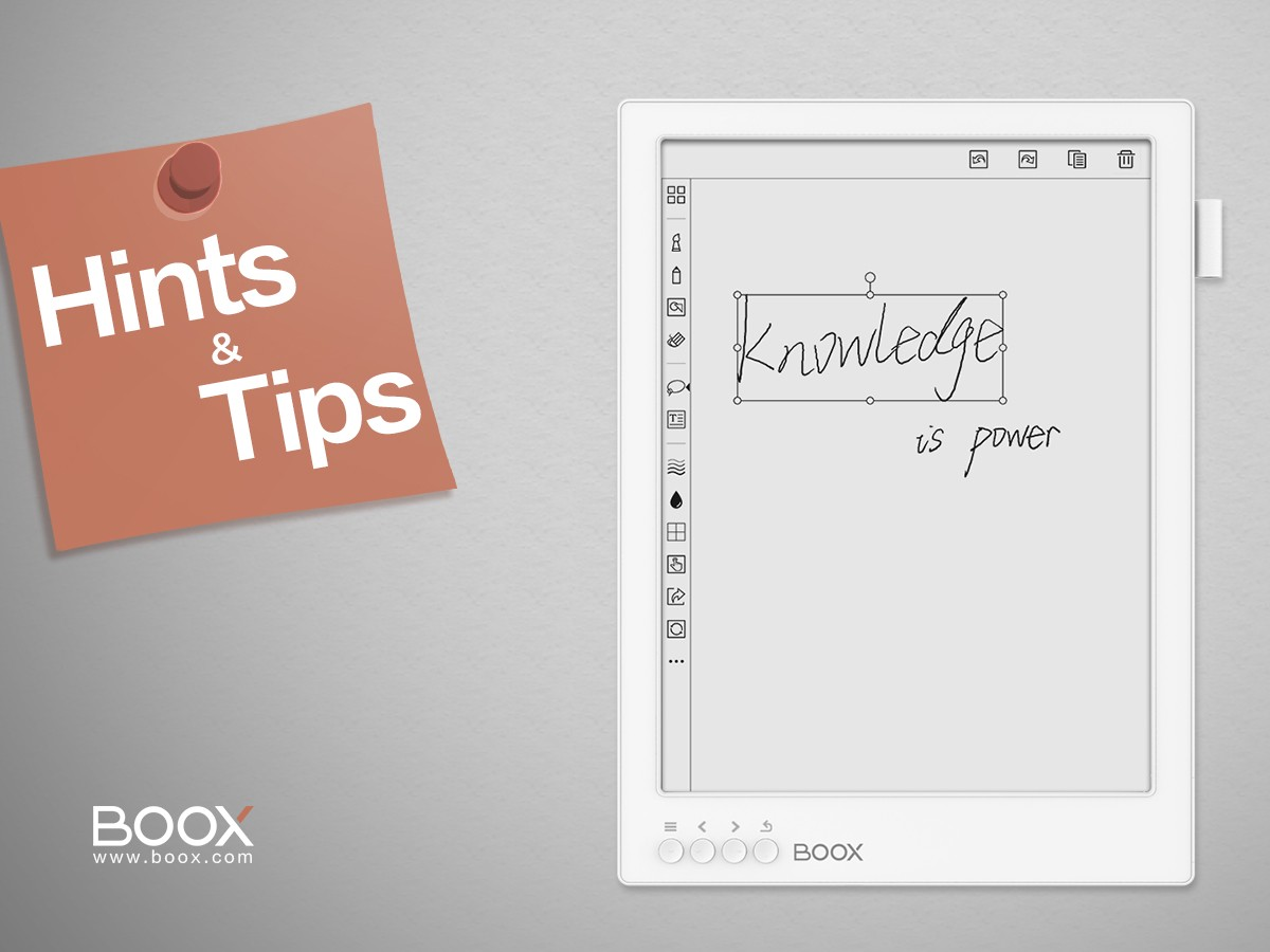 7 Useful Boox Tips You May Not Know About - Onyx Boox - Medium