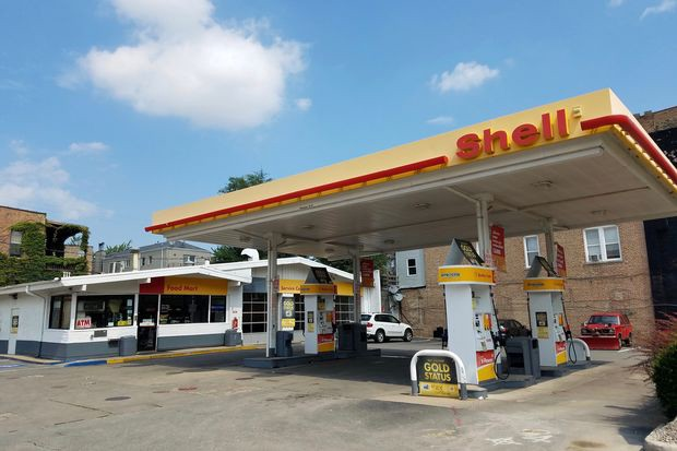 Demolished Shell gas station at Damen/Division to be replaced by