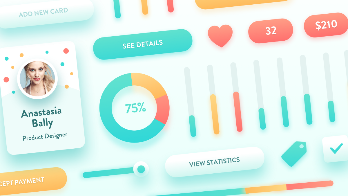 How to achieve friendly, lightweight and consistent UI design