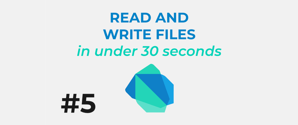 Learn Dart #5: Read and write files in under 30 seconds