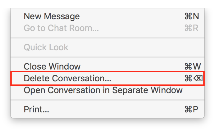 Stop Accidentally Deleting Conversations in Messages on the Mac