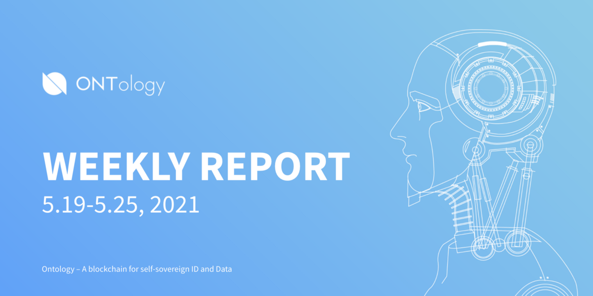 Ontology Weekly Report (May 19th–25th, 2021)