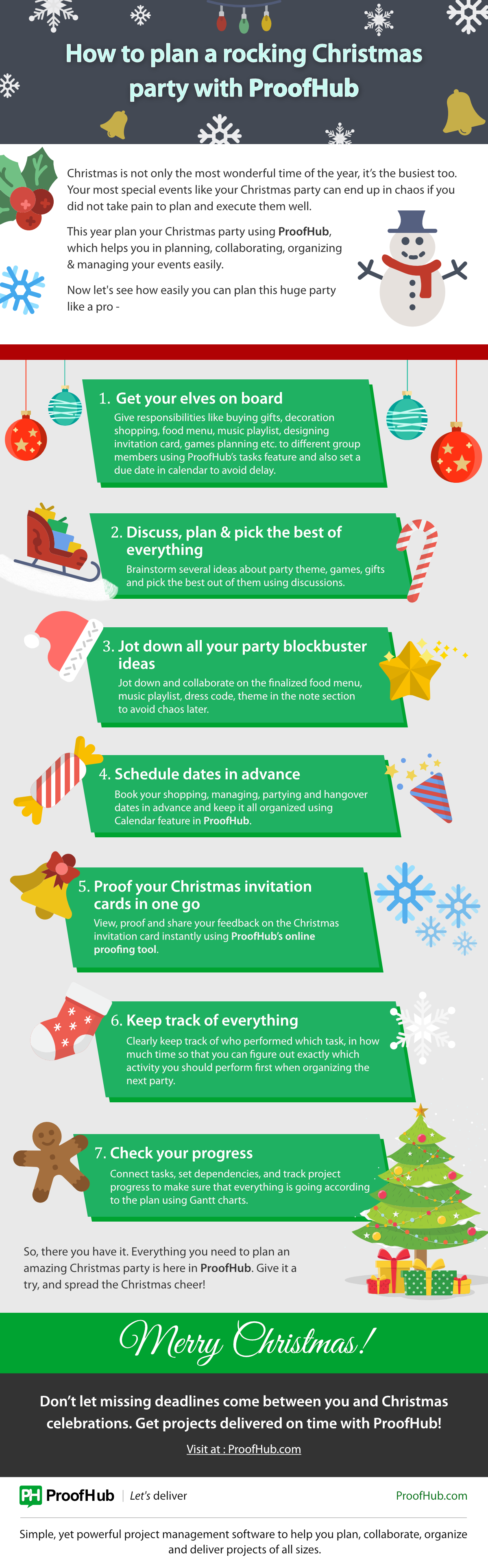 Christmas Party Planning.How To Plan A Rocking Christmas Party With Proofhub