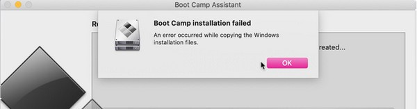 Boot Camp Error