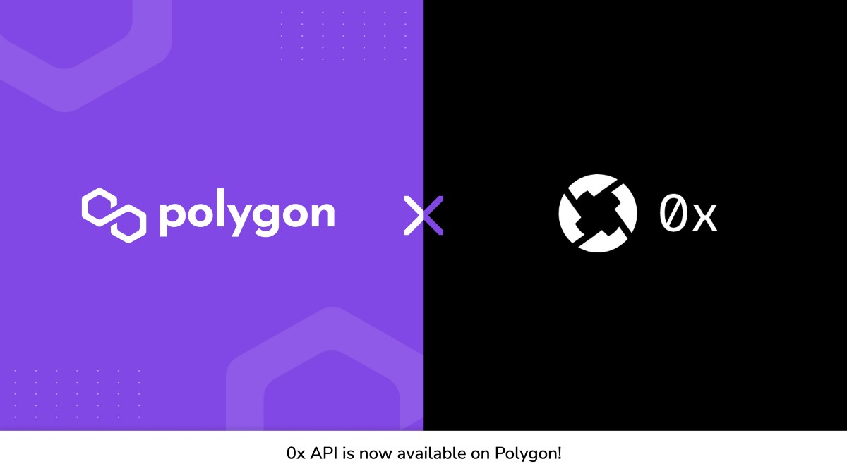 0x launches on Polygon to scale its Ethereum based DEX services!