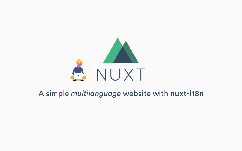 A simple multi-language site with Nuxt js and nuxt-i18n