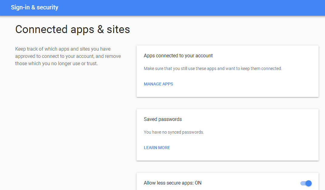 Sending emails from your Java app via Gmail  Solve authorization