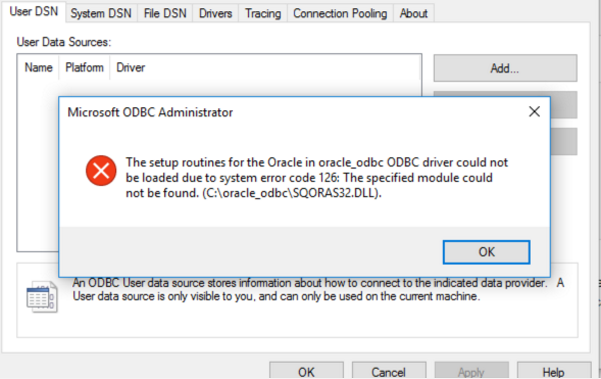 Installing Oracle ODBC Driver 12 2 0 1 0 on Windows 10