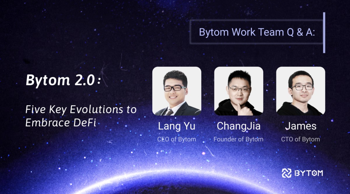 Bytom Team Q&A with Chinese Community
