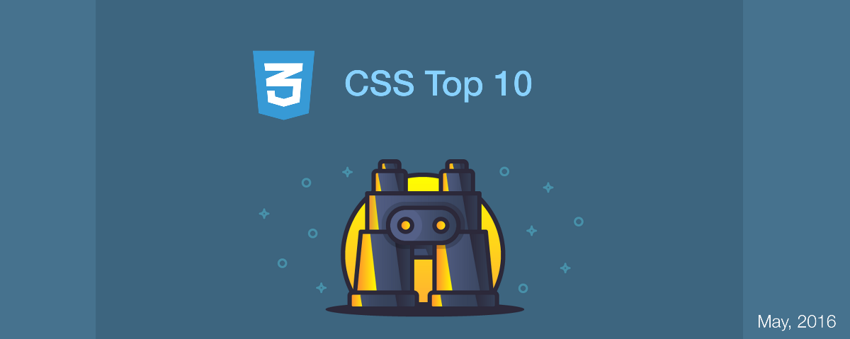 Top 10 CSS Articles from Last Month. (v.May)