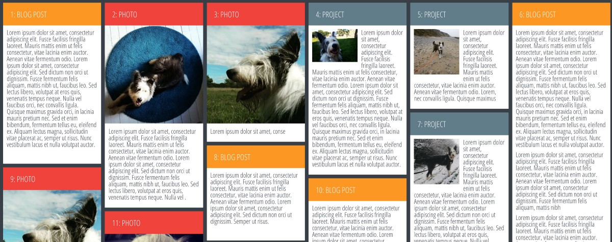 Masonry style layout with CSS Grid - Andy Barefoot - Medium