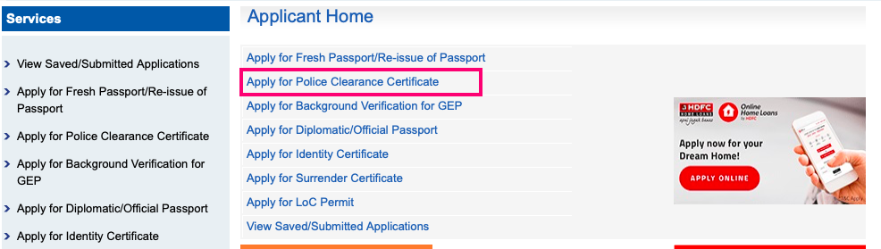 How to get Police Clearance Certificate in India - Fahad