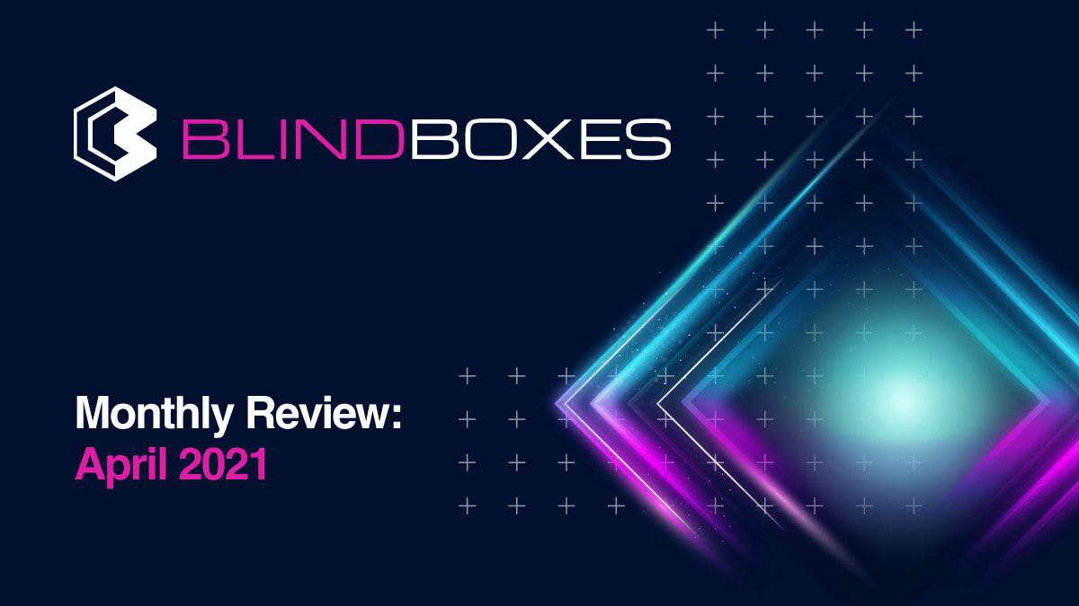 Blind Boxes Monthly Review: April 2021