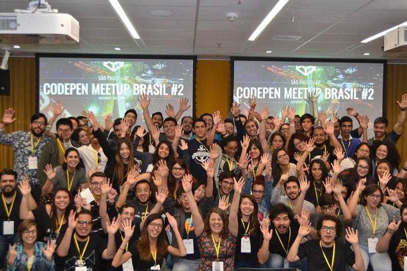 Everything that happened at 2nd CodePen Meetup Brazil