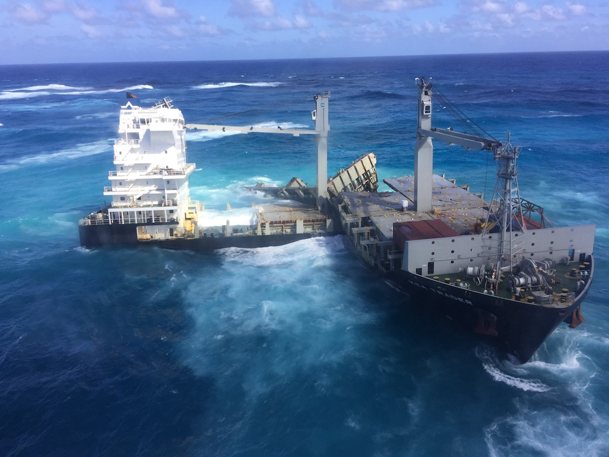 Maritime accidents: The grounding of Kea Trader - Shone Blog