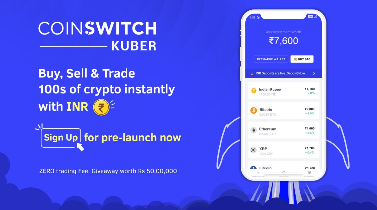 Introducing CoinSwitch Kuber: Now Buy, Sell & Trade 100s of Crypto with INR | by CoinSwitch | CoinSwitch