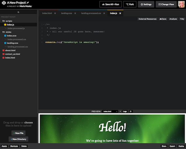 Coding with CodePen: An Overview - The Older Coder - Medium