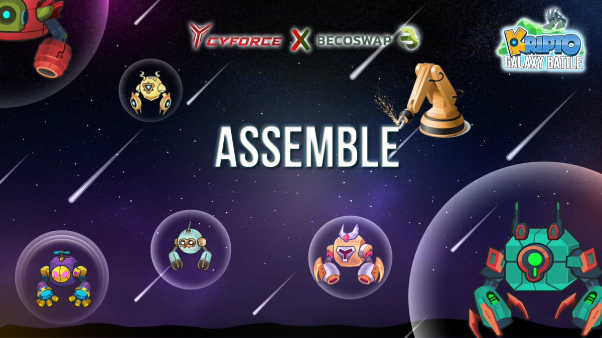 Kripto Galaxy Battle—All about ASSEMBLE feature you must know!