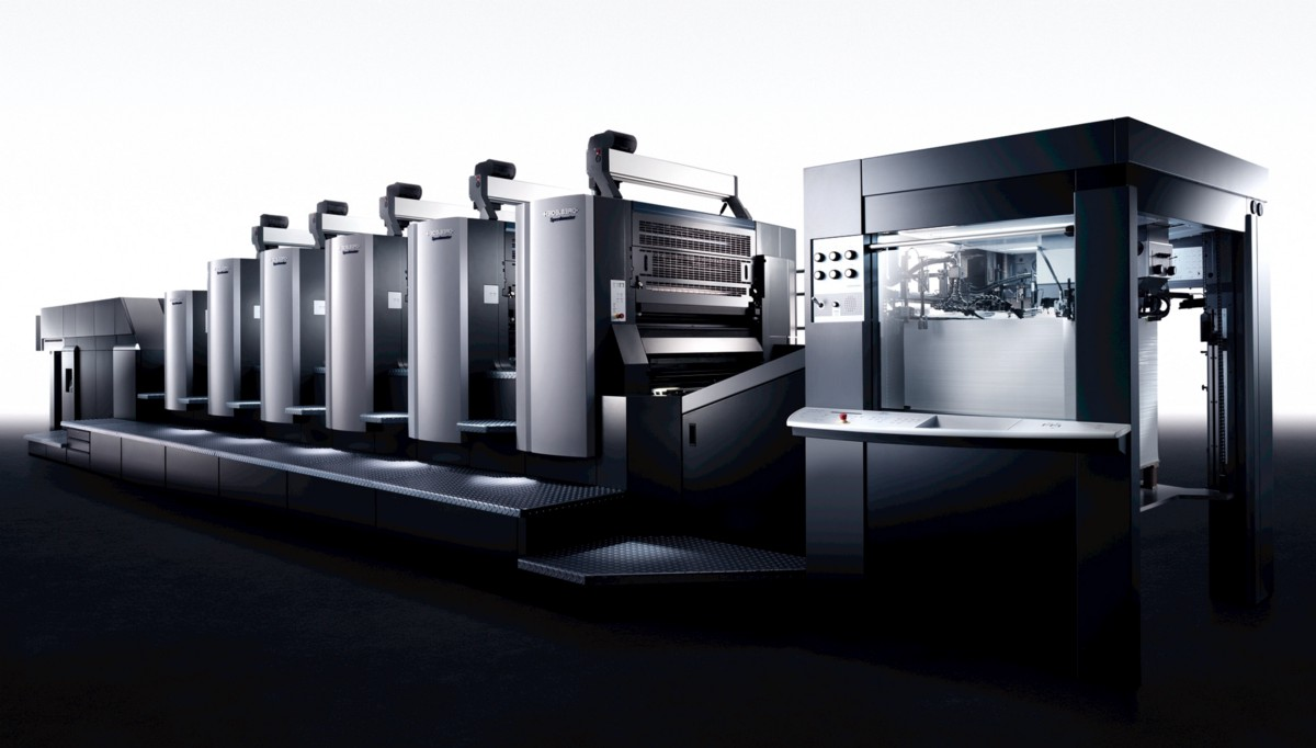 Get Used Heidelberg 72v Printing Machine from a Reliable