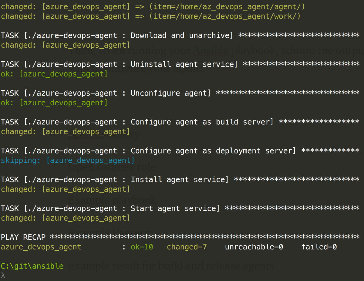 Easily Configuring an Azure DevOps Agent with Ansible