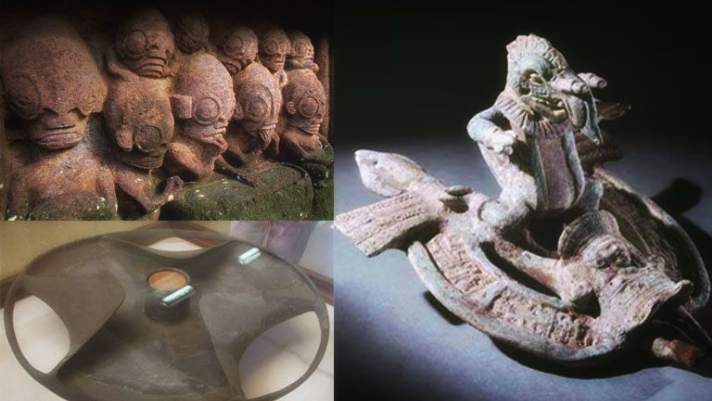 """7 PIECES OF ANCIENT ART THAT PROVE THE """"GODS"""" WERE HERE"""