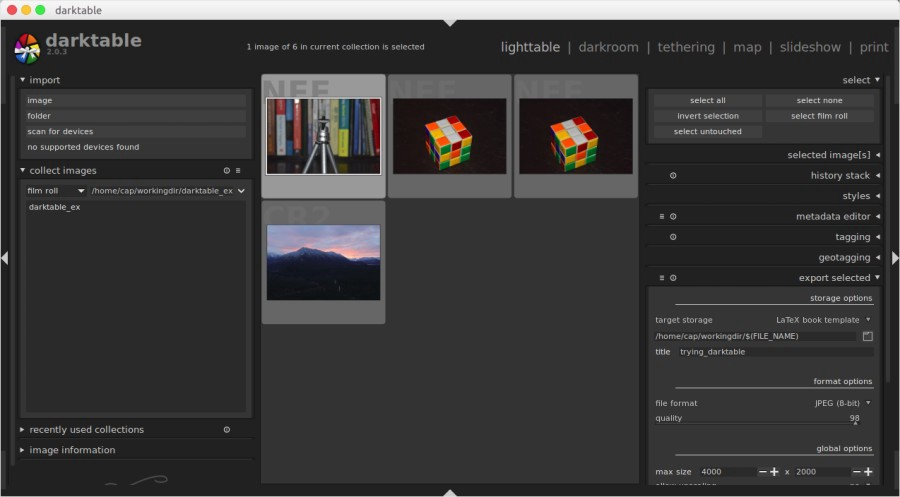 Getting Started with Darktable, the Open Source Alternative