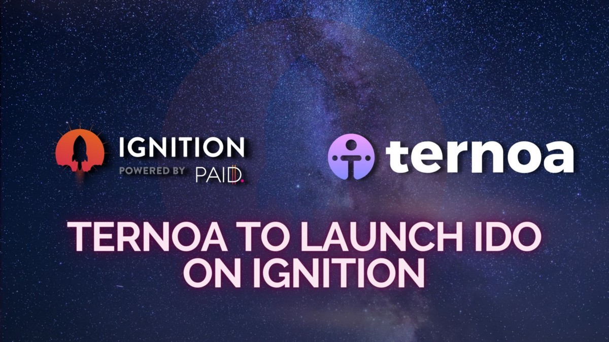 Ternoa to Launch IDO on Ignition!