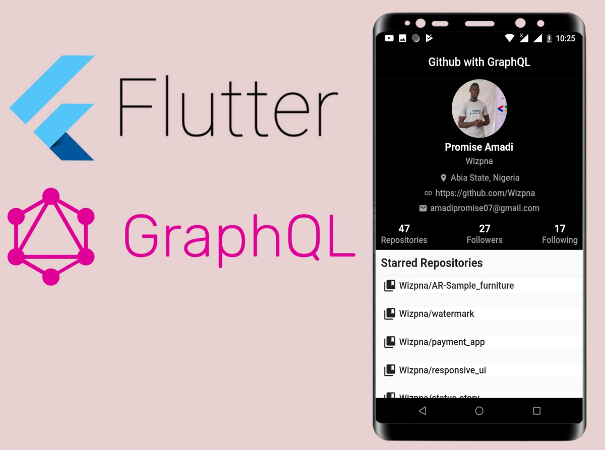 Build A GitHub App With Flutter And GraphQL Like A Pro