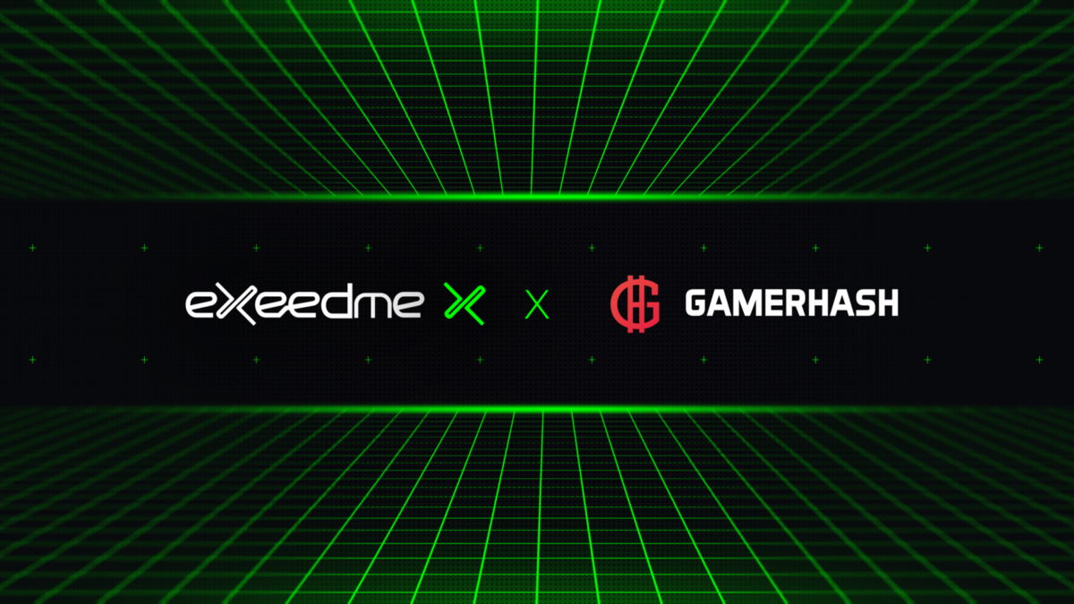 GamerHash joins Exeedme in our mission to help gamers earn