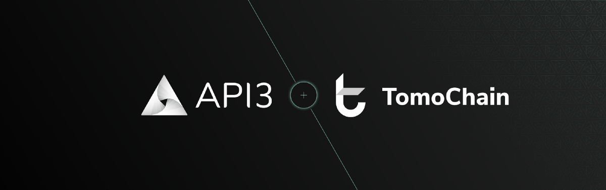 Announcing the API3 partnership with TomoChain