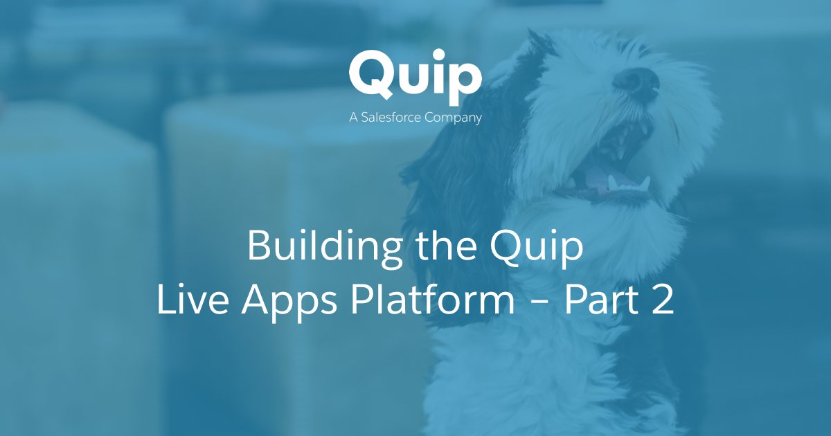Embedding third-party React apps in Quip for fun and profit — Part 2