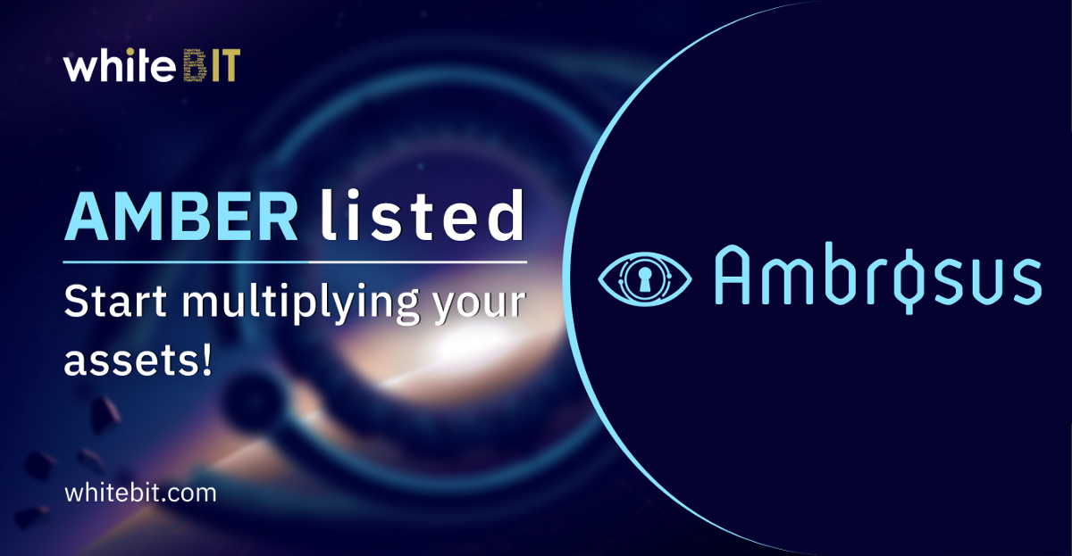 AMB listed!. 💥AMB is listed on WhiteBIT!💥 | by WhiteBIT ...