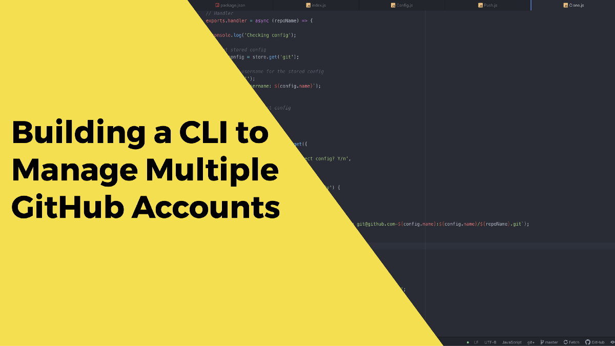 Managing Multiple GitHub Accounts on macOS Using a CLI