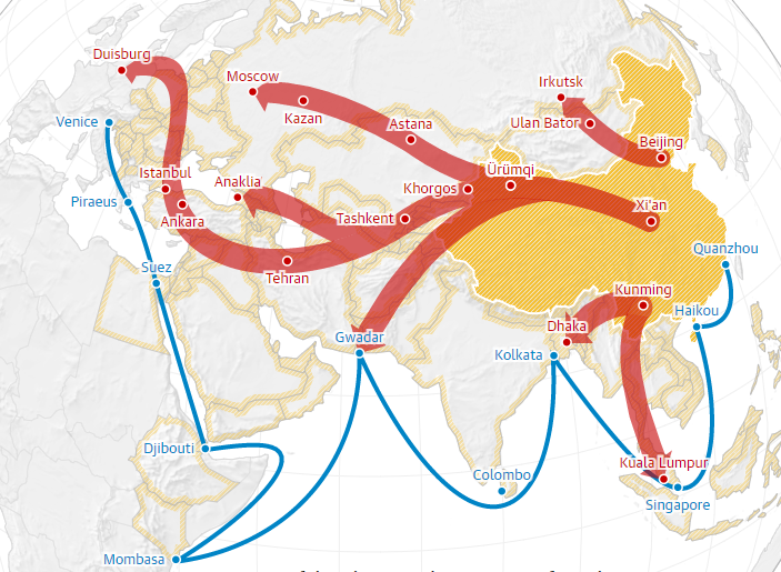 One Belt One Road What the Chinese learned from Victorian