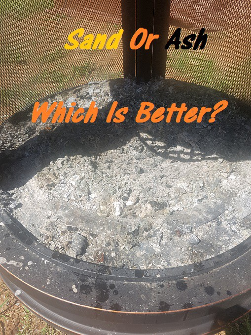 Should I Put Sand In The Bottom Of My Fire Pit By Josh Imman Medium