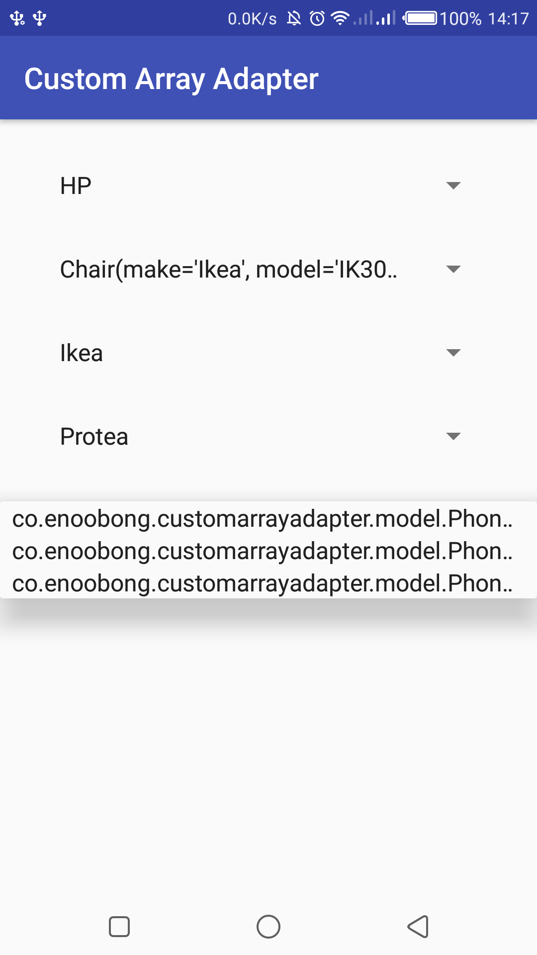 Creating custom array adapters in Android, A better way