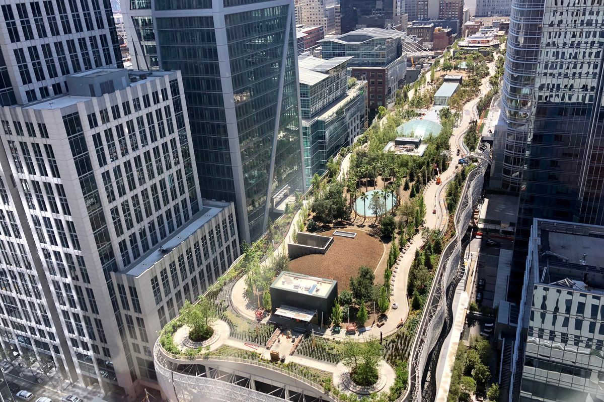 Stop Comparing Salesforce Park To The High Line The Bold