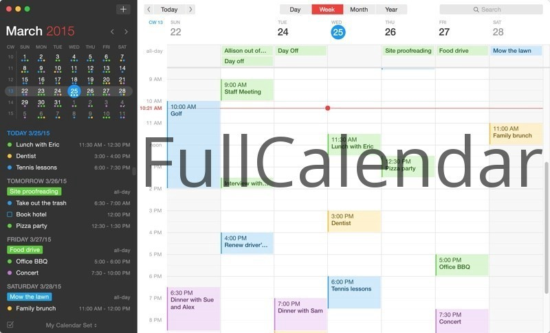 How to add FullCalendar to your Meteor project - Peddle Hawk Blog