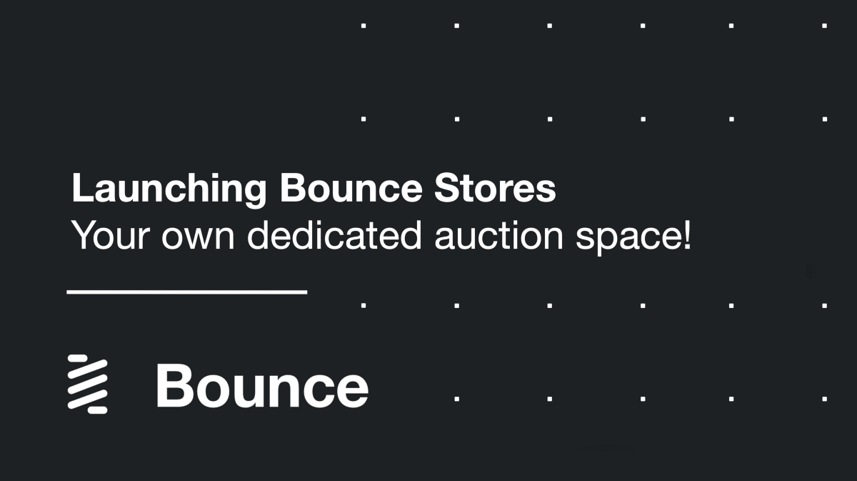 Bounce Stores—your own auction space