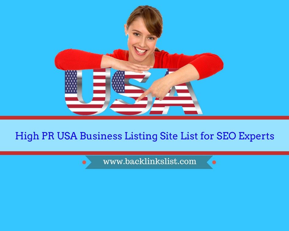 Find Top USA, Germany High PR Business Listing Site Lists to